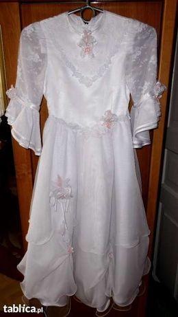 Sukienka komunijna 140-146