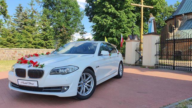 BMW kremowy środek + BUS Limuzyna Auto Samochód do ślubu na wesele