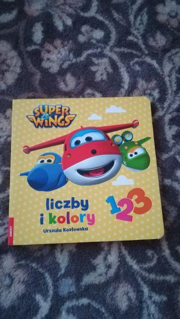 Super wings liczby i kolory Urszula Kozłowska książka