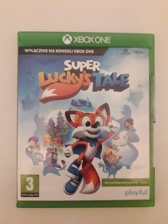 Gra Super Lucky's Tale na Xbox one. Nowa.