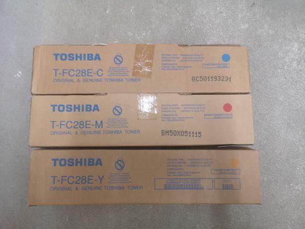 Toner czerwony, żółty, nieb. Toshiba T-FC28E-C, T-FC28E-M, T-FC28E-Y