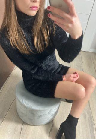 Sukienka Tunika Misiowa w kolorze czarnym S