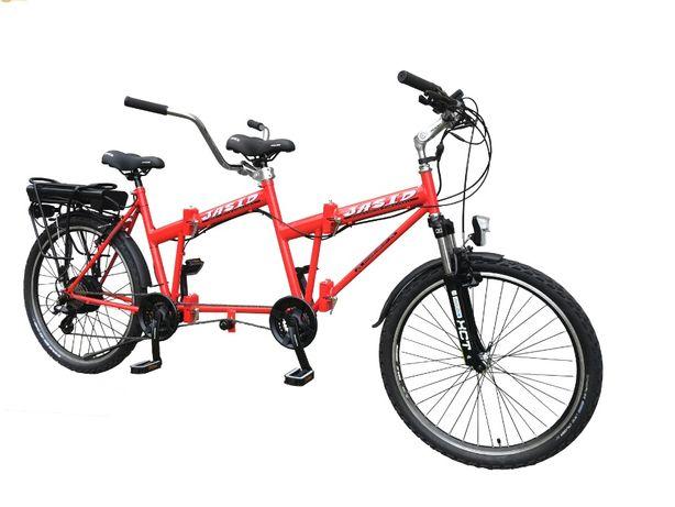 Rower tandem elektryczny 350W Nowy Składany PREMIUM POLSKI 13 Ah