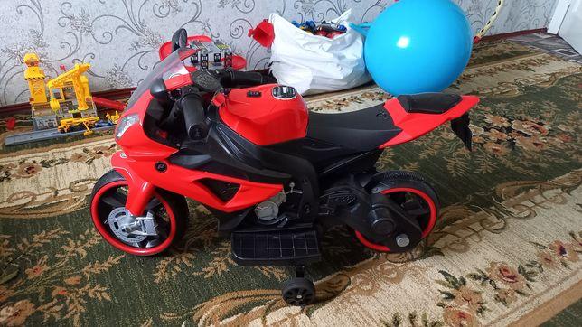 Детский электро-мотоцикл