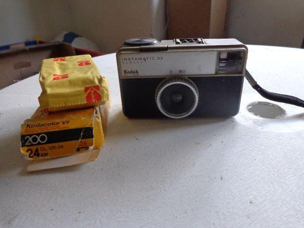 Maquina fotografica antiga Kodack Instamatic pag antecipado via trans