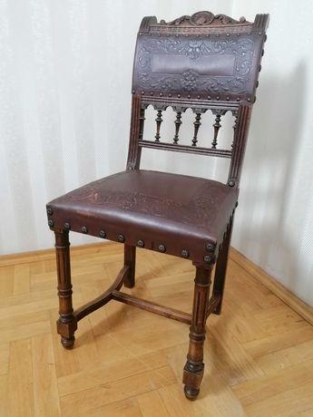 krzesło eklektyczne do biurka toaletki