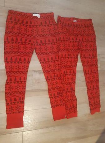 nowe 2 pary spodni pidżama piżama 158-164 czerwone friends 13-14