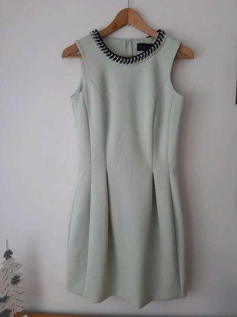 Sukienka mohito 36 miętowa
