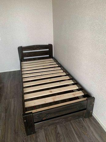 Деревянная 80*200 см кровать*