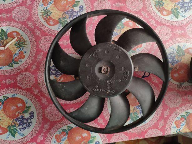 Вентилятор радиатора кондиционера DENSO для Fiat DOblo 1,9 2008г. дгг.