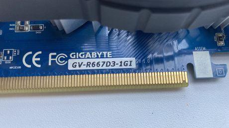 Видеокарта GV-R667D3-1GI rev1.0 нерабочая. Radeon HD 6670