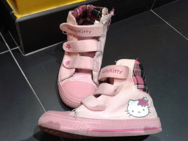 Ténis Rosa 30 Hello Kitty Original