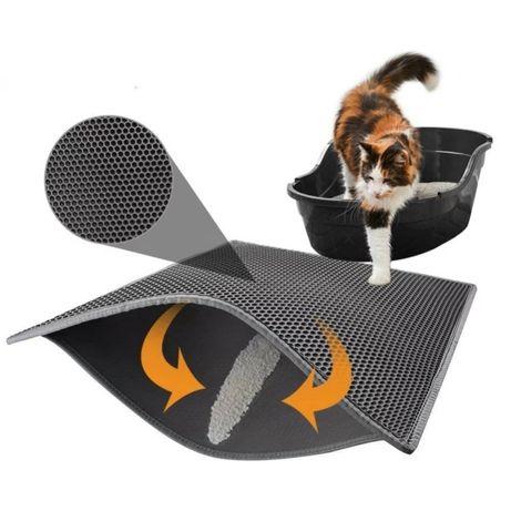 Mata zbierająca pod kuwetę dla kota