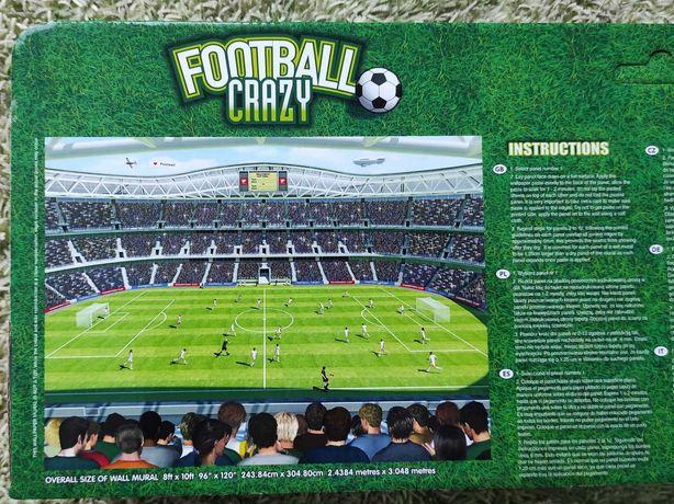 Fototapeta Stadion Boisko piłkarskie Piłka nożna WALLTASTIC 41769