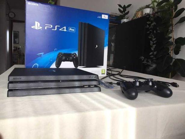 Playstation 4 Pro 1TB, Dualshock 4