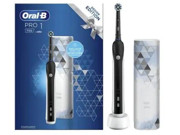 Szczoteczka elektryczna ORAL-B PRO 750 Cross Action BLACK