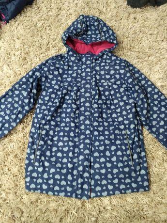 Демисезонна куртка для дівчинки 116-122см.