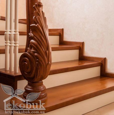 Різьба по дереву чпу, балясина різьблена, стовб західний для сходів