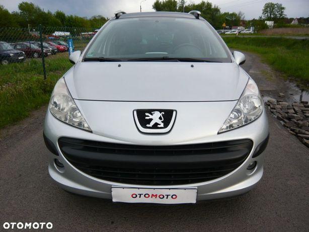 Peugeot 207 1.4 VVTi ,klima ,PANORAMA ,opłacony ,BEZ rdzy ,100% sprawny ,transport