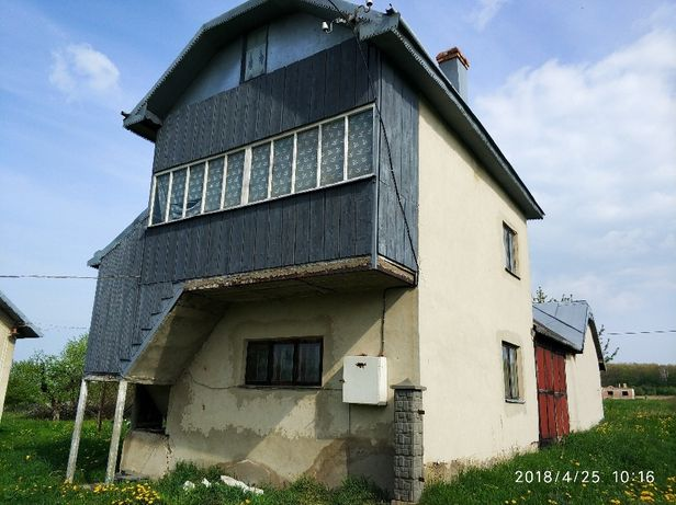 Земельна ділянка з будинком с.Клубівці