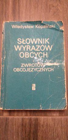 Słownik wyrazów obcych W. Kopaliński