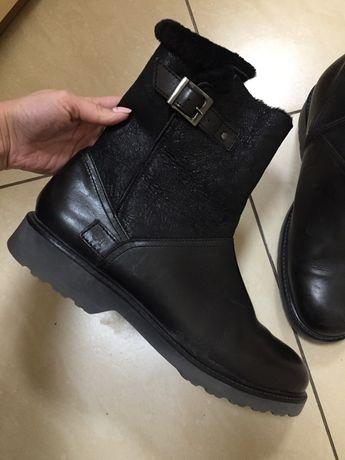 Итальянские зимние сапоги ботинки Armani Ecco Clarks