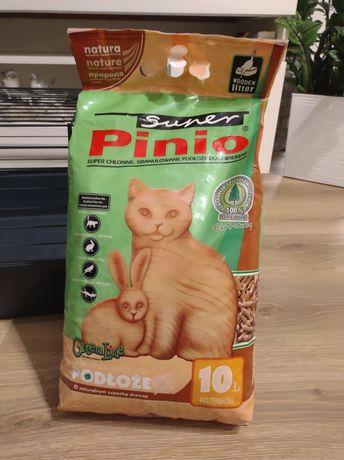 Żwirek Pinio 10l dla królika,świnki morskiej + sianko