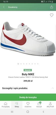 Buty Nike Cortez Basic. Nowe roz.42