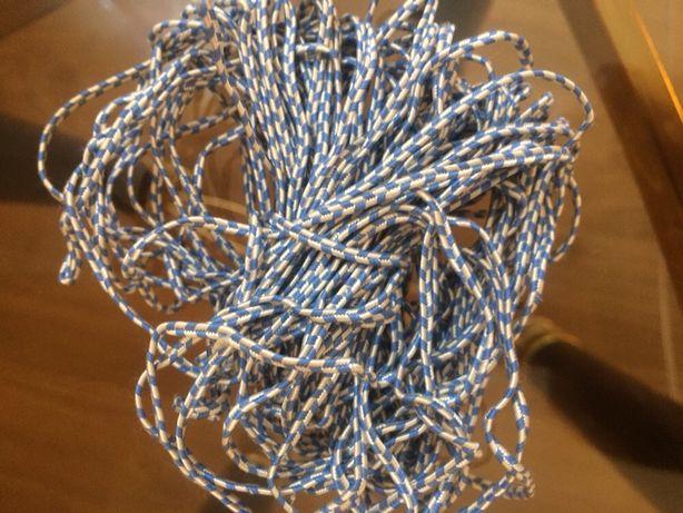 Окантовка шнуровка голубая длинна 13 м цена 50 грн