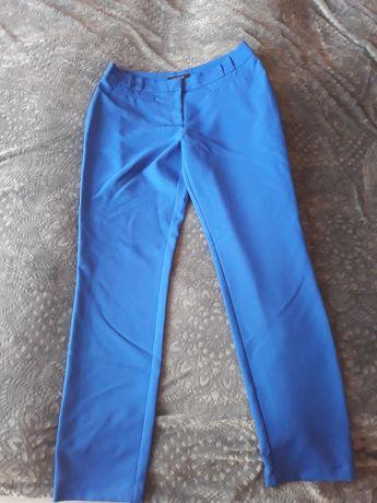 Spodnie ciemny błękit r.38