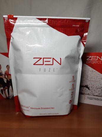 Спортивное питание Протеиновые коктейли ZEN Fuze ваниль/шоколад