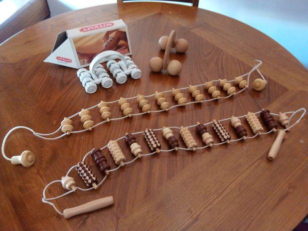 Kit massagens (4 peças)