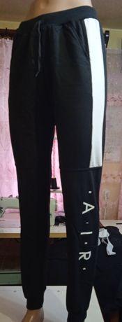 Спортивные штаны для подростков, двунитка