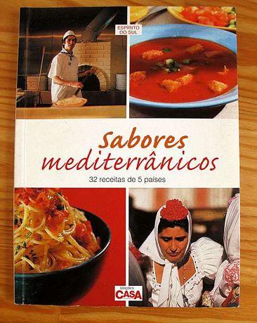 Sabores Mediterrânicos - receitas de 5 países