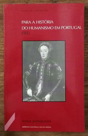 para a história do humanismo em portugal, iii, américo costa ramalho