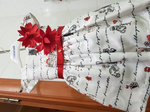 Детское праздничное платье на 9 мес