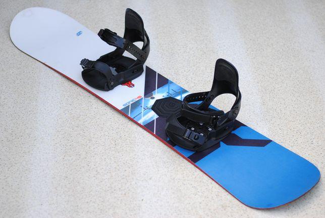 Deska Snowboardowa Snowboard Crazy Creek 145 z Wiązaniami