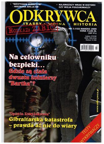odkrywca magazyn/gazeta/czasopismo marzec 2009-skarby-wojna-historia