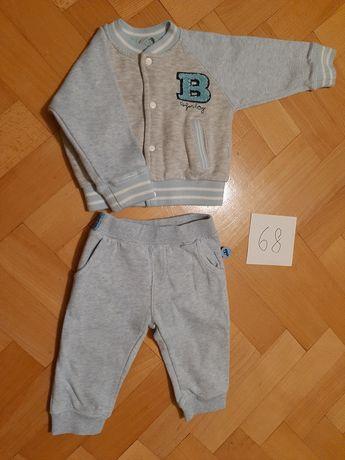 Dres, bluza + spodnie spodenki r. 68 Cool club