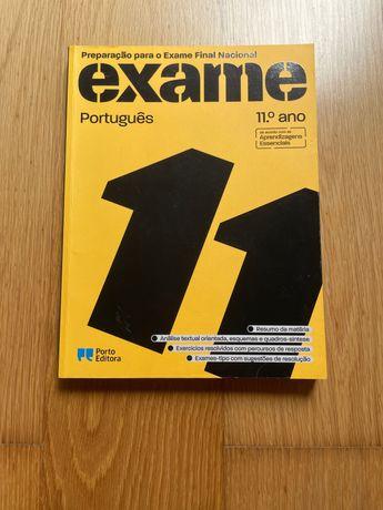 Livro de preparação para exame português 11 ano