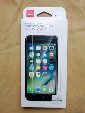 Защитное стекло iPhone 6, 6s,7 (премиум качество, оригинал Verizon)