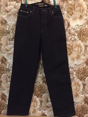 Брюки джинсы на флисе новые