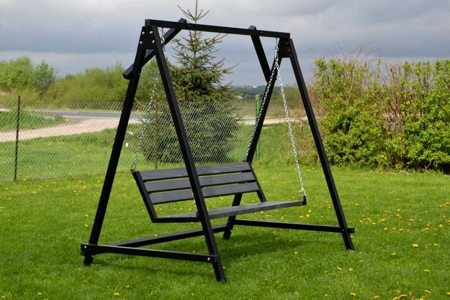 huśtawka ogrodowa stalowa, huśtawki, ławka do ogrodu