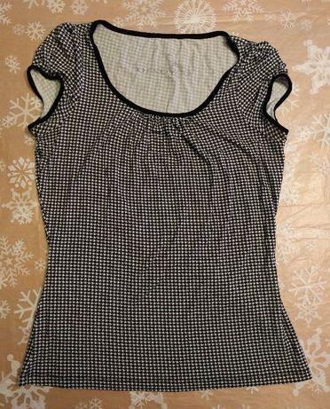 Bluzeczka ORSAY / czerń & biel / black & white / rozmiar M / stan bdb