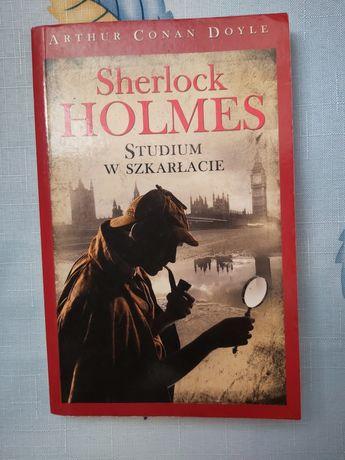 Sherlock Holmes  Studium w działanie Arthur Conan Doyle