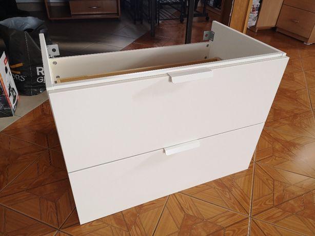 Szafka pod umywalkę IKEA GODMORGON 80 cm, biała, nowa.
