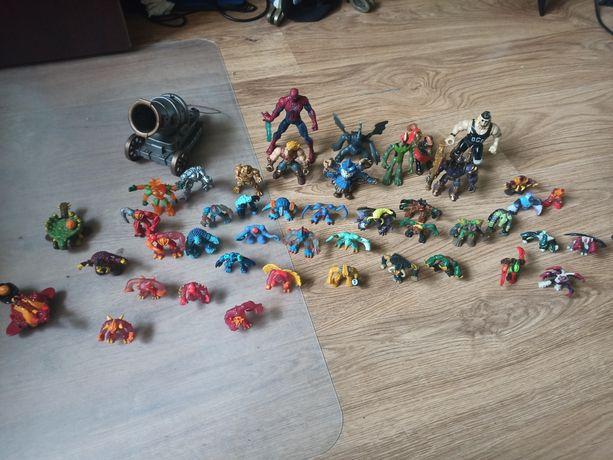 Figurki Gormiti + inne zabawki