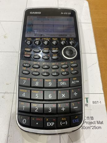 Maquina de calcular cientifica CASIO fx-CG20