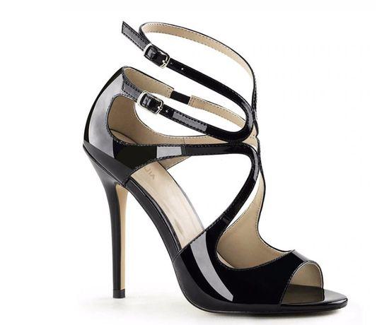 szpilki czarne eleganckie
