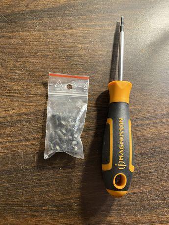 IMBUSOWE śruby śrubki pokrywy baterii NINEBOT MAX G30